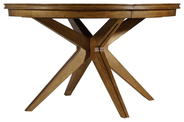 Retropolitan Round Dining Table Midcentury Dining Tables by