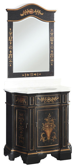 Traditional Bathroom Vanities And Sink Consoles.
