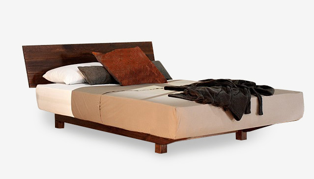 european floating timber bed frame contemporary beds - European Bed Frame