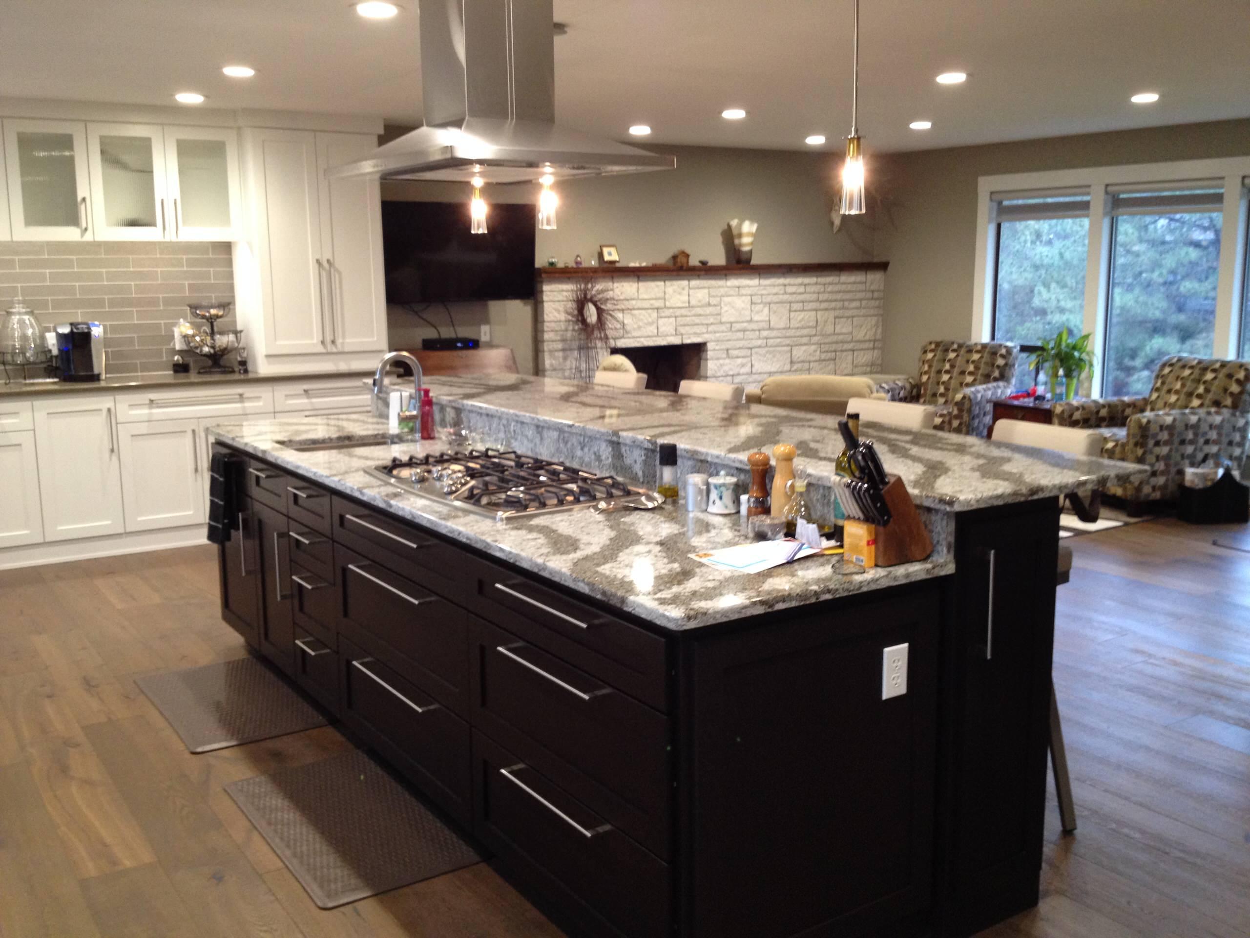residential kitchen/main floor remodel