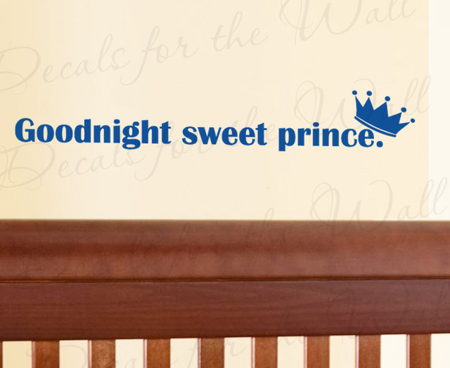 Wall Decal Art Sticker Quote Vinyl Lettering Adhesive Goodnight