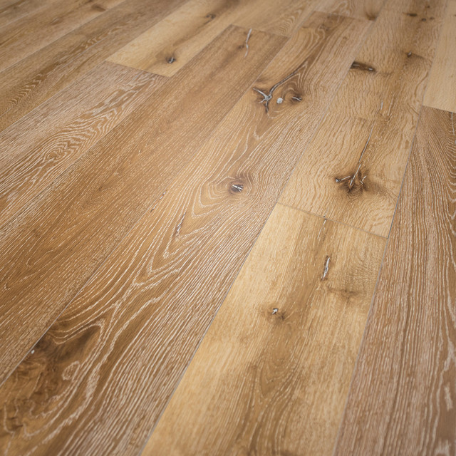 French Oak Prefinished Engineered Wood Floor, Idaho, 1 Box.