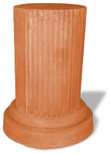 Doric Pedestal, Terra Cotta.