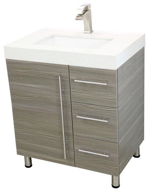 Unique Modern Bathroom Vanities And Sink Consoles by Windbay