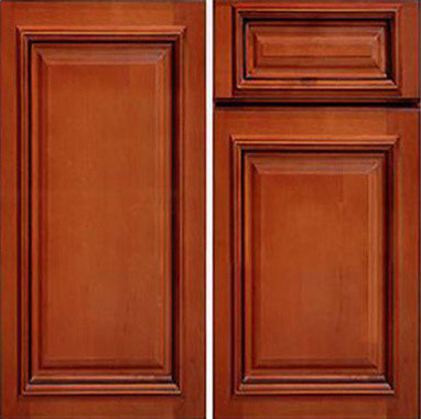 Kitchen Base Cabinets Glazed Maple 24x24x34 5 One Drawer And Two Door