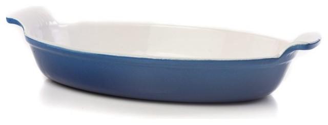 Fonda Gratin Dish Blue.