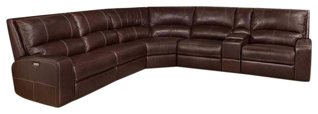 Parker Living, Swift Clydesdale Modular 6 Piece Power Reclining Sectional