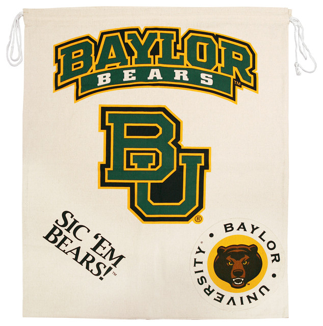 Ncaa Licensed Collegiate Laundry Bag, Baylor University.