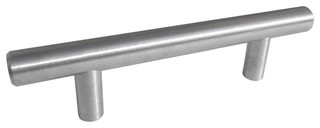 Celeste Bar Pull Cabinet Handle Brushed Nickel Stainless Steel