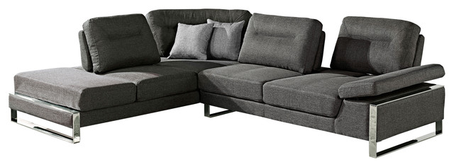 Verona Gray Sectional Right modern-bed-frames  sc 1 st  Houzz : verona sectional - Sectionals, Sofas & Couches