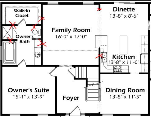 Bottom Floor Plan Possible?