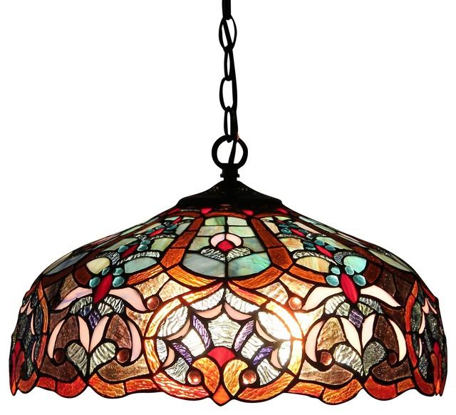Sadie 2-Light Victorian Ceiling Pendant Fixture.