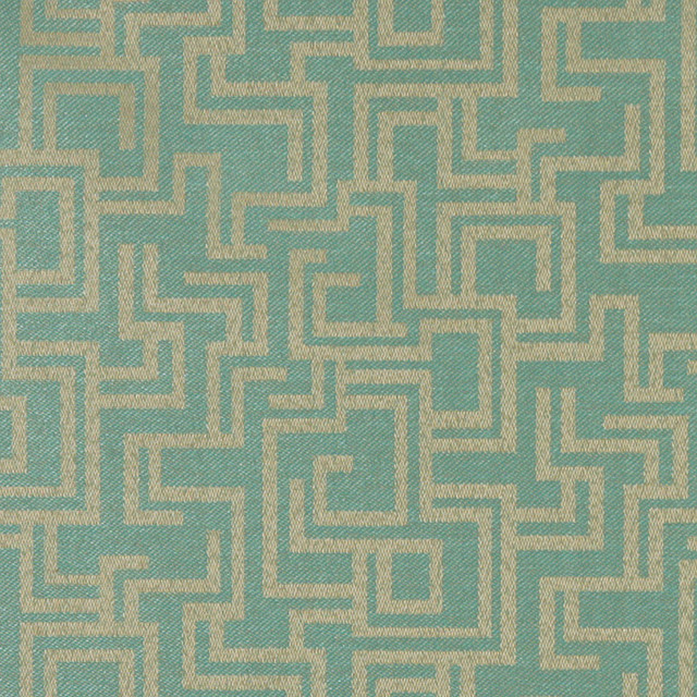 Mist Geometric Outdoor Indoor Marine Upholstery Fabric By The Yard