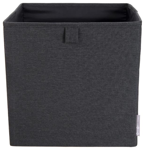 Soft Storage, Cube Storage, Black Modern Storage Bins And Boxes