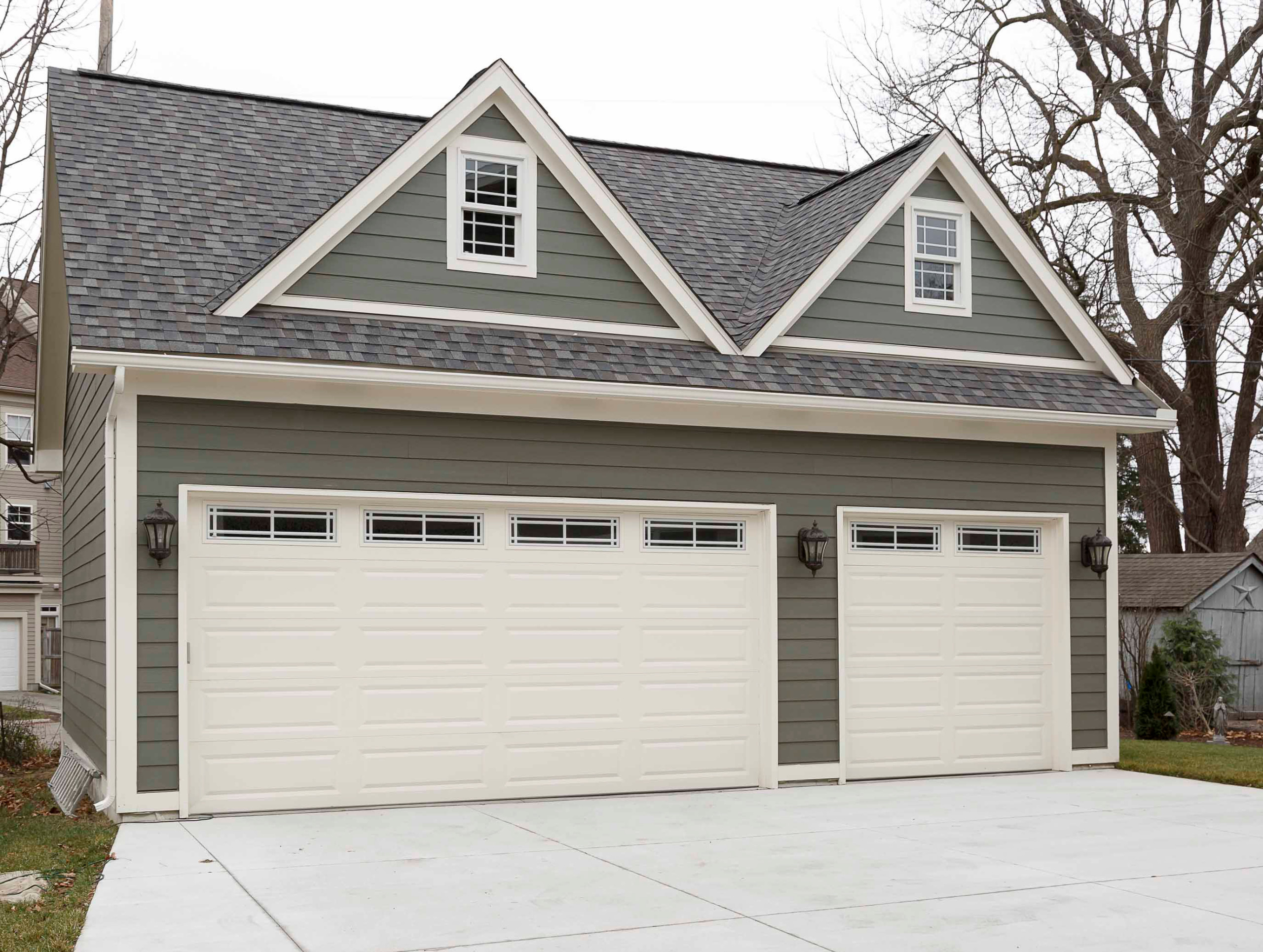 Craftsman-Inspired New Construction