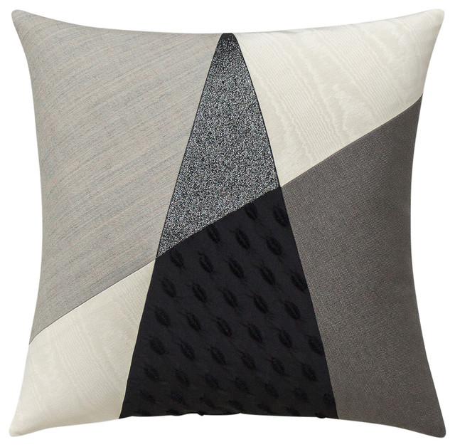 Atrium Geometric Grey-Tone Scatter Cushion
