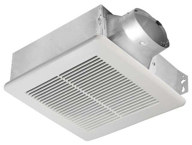 Delta Breez Slim 100 Cfm Fan Single Speed Slm100 Traditional Bathroom Exhaust Fans By