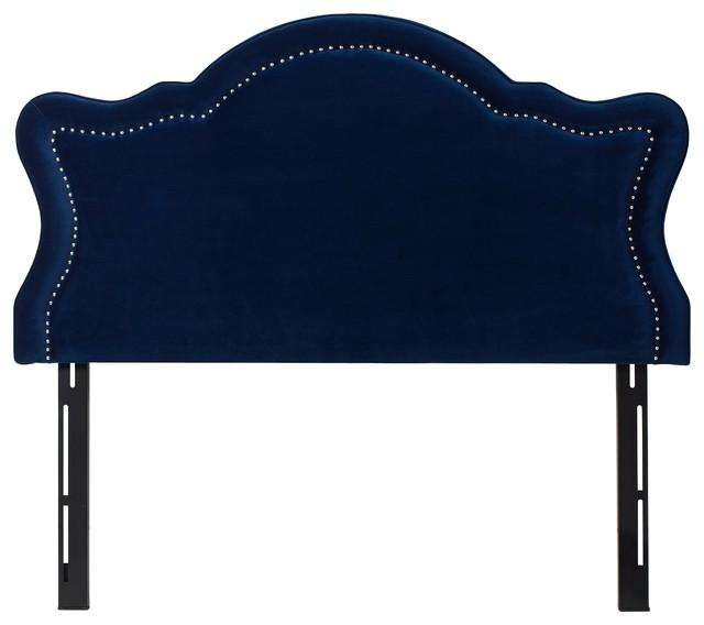 Legacy Headboard, Navy Blue, Queen