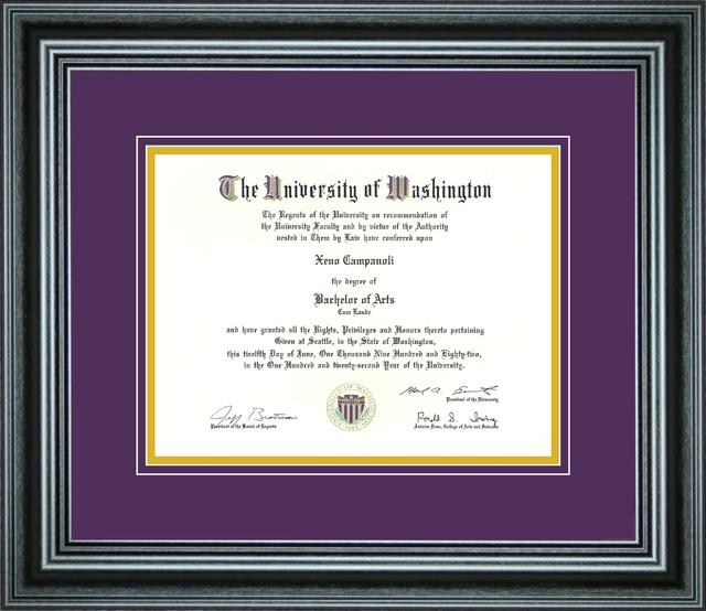 """Single Diploma Frame, 11""""x14"""" Diploma"""