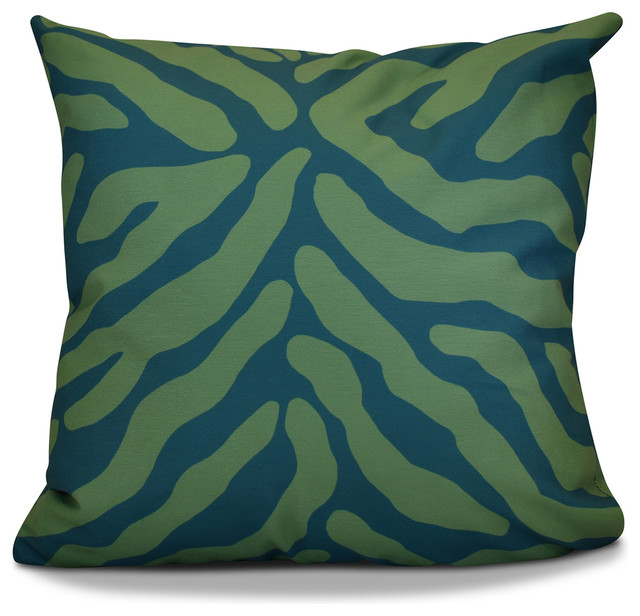 Animal Stripe - Contemporary - Outdoor Cushions And Pillows - by E by Design