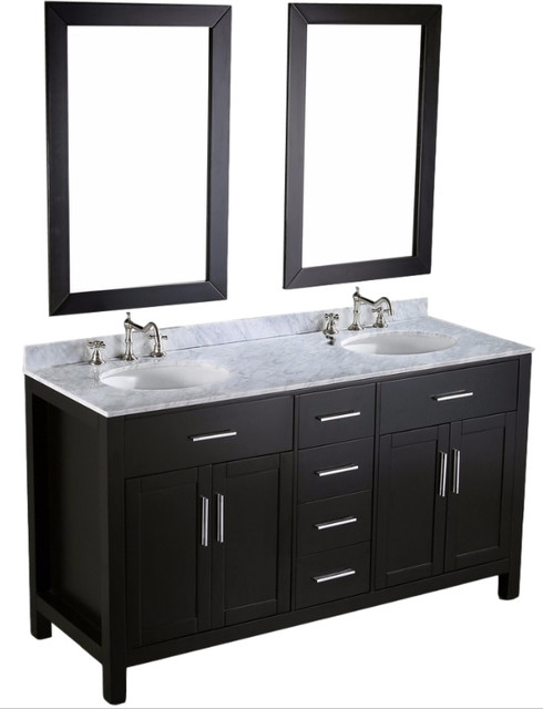 Fresh Transitional Bathroom Vanities And Sink Consoles by Bosconi