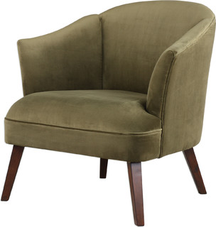 Conroy Olive Accent Chair, Natural
