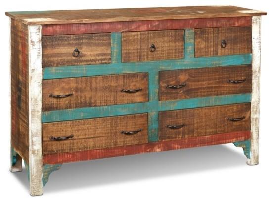 La Boca Solid Wood 7-Drawer Dresser