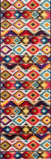 "Nuloom Lizmar Runner Rug, Multicolor, 2&x27;5""x8&x27;."