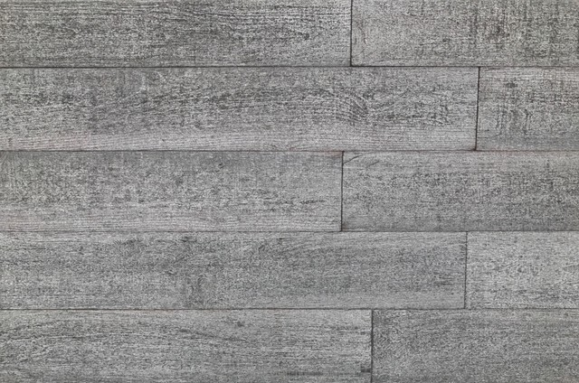 5x2&x27; 3d Gray Reclaimed Wood Wall Planks Barn Wood, Set Of 12, 10 Sf.