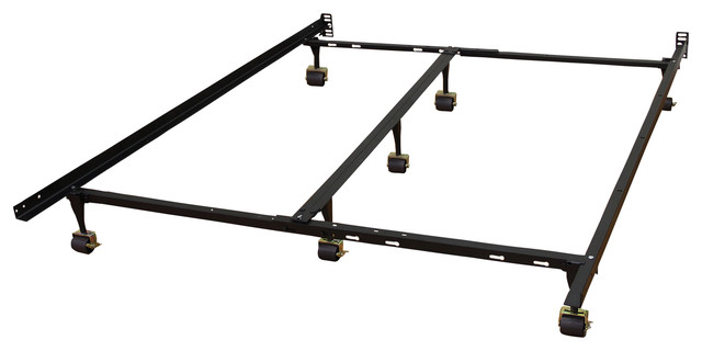 Adjustable Full Queen Bed Frame : Universal heavy duty adjustable twin full queen king