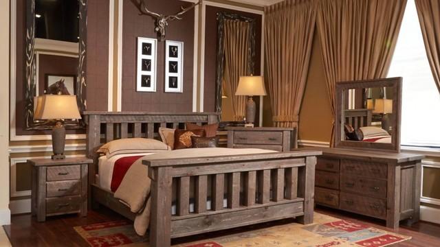 Rustic Pine Bedroom Furniture