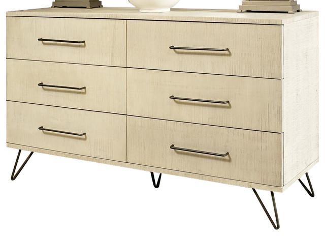 Ligna Jackson Double Dresser, Sea Salt 9726.
