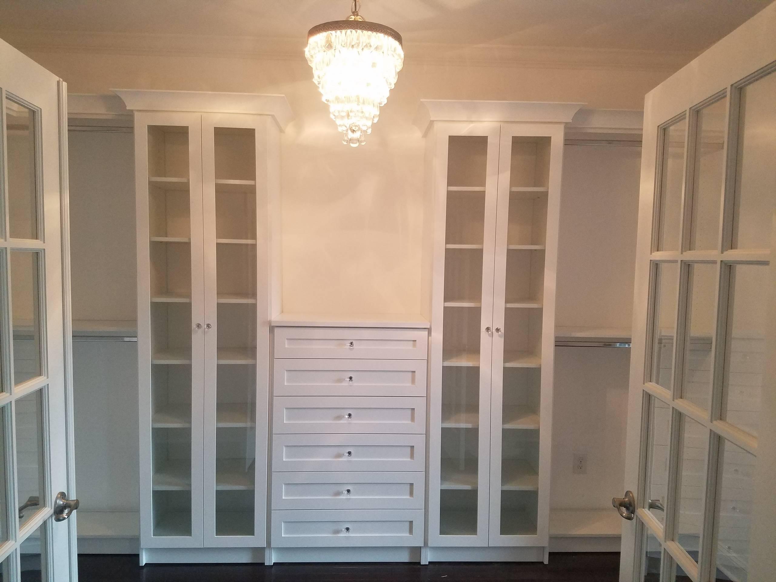 White Walk In Closets