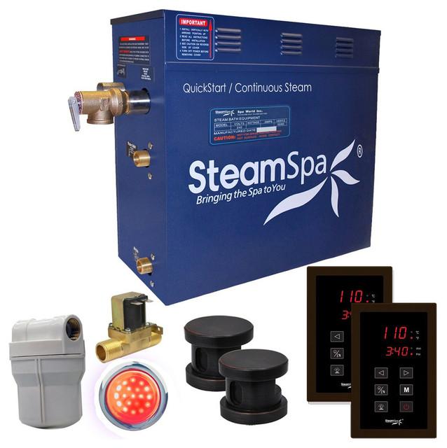 SteamSpa RYT1050OB-A Royal 10.5 KW QuickStart Acu-Steam Bath Generator Packag...
