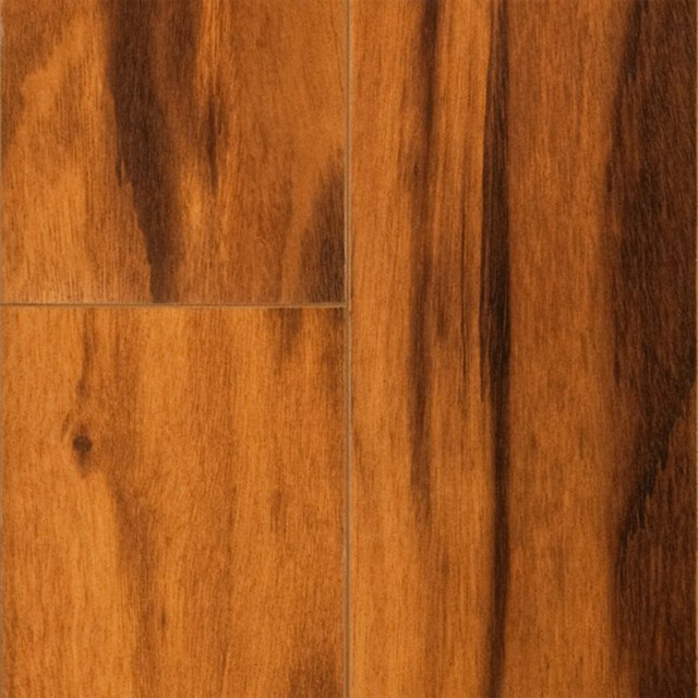 St James Collection By Dream Home 12mm Brazilian Koa High Gloss Laminate Floo