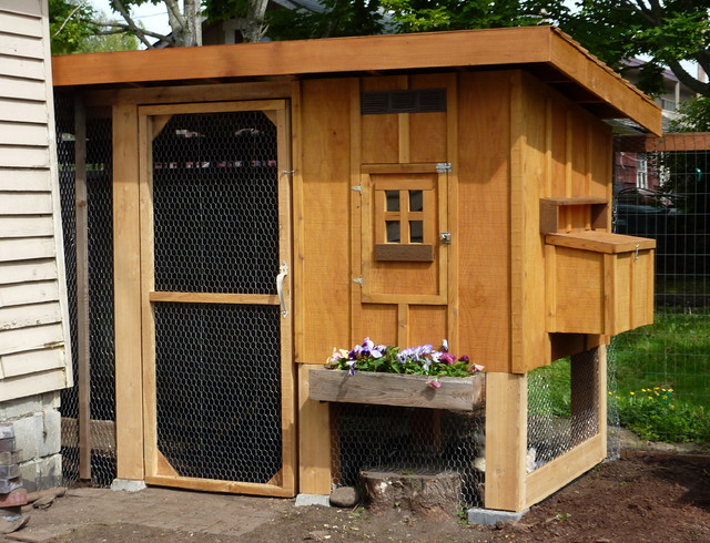 Bravest Chicken Ever: Chicken Coops That Rule The Roost