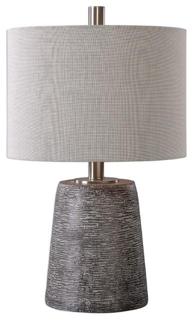 Duron Bronze Ceramic Accent Lamp.