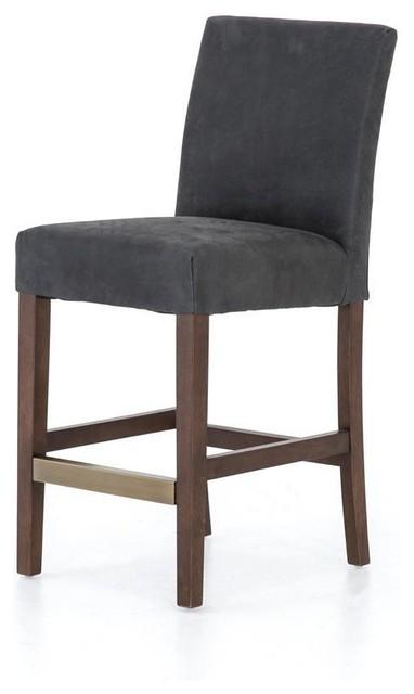 Terrific Sovo Austell Counter Stool Umber Black Ibusinesslaw Wood Chair Design Ideas Ibusinesslaworg