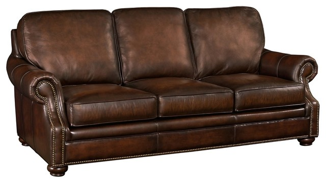 Wiltshire Leather Sofa Brown
