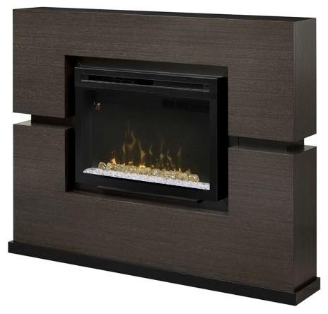 Linwood Electric Fireplace - Acrylic Ice Firebox - Modern - Indoor ...