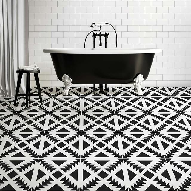 Buy FAST: Cutting Edge Stencils Aztec Tile Stencil - DIY ...