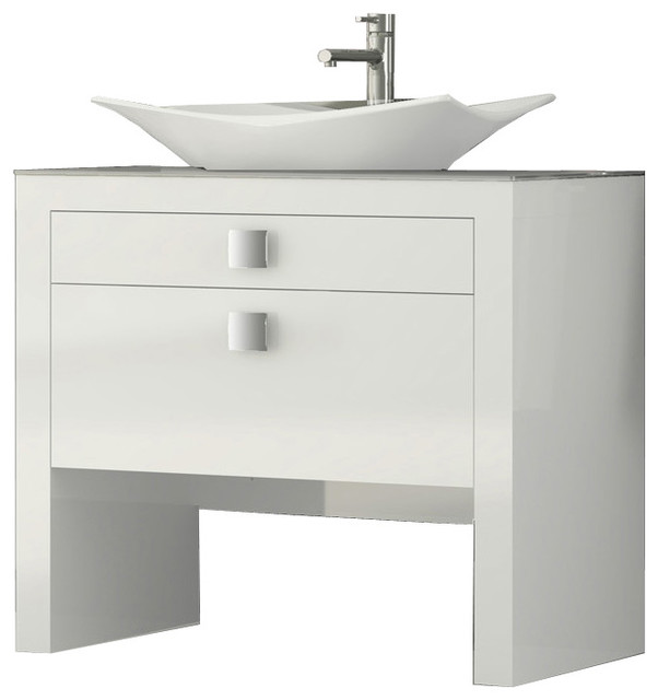 daytona 40u0026quot bathroom vanity white high gloss. Stylish Design 19 Bathroom Vanity And Sink Home Design Ideas Ibuwe