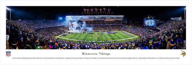 Minnesota Vikings Tcf Bank Stadium Unframed