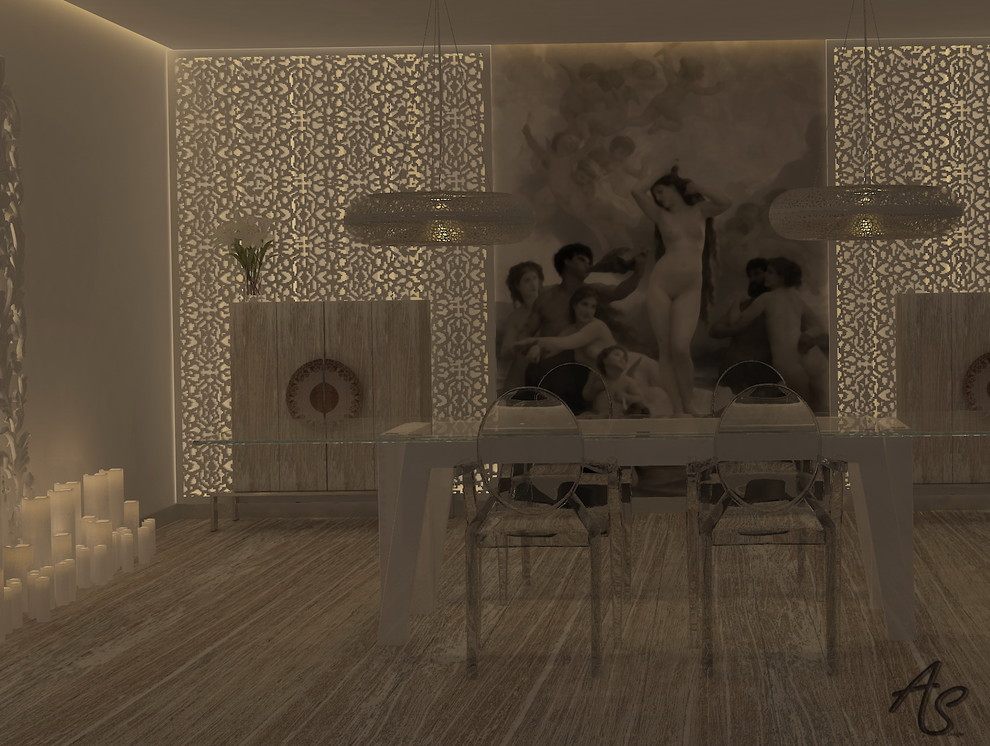 Penthouse/Loft  3D Interior Project (In process)
