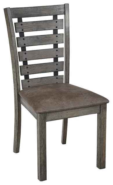 Fiji Dining Chairs, Set of 2, Harbor Gray