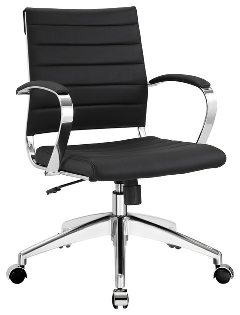 aria leather office chair - contemporary - office chairs -