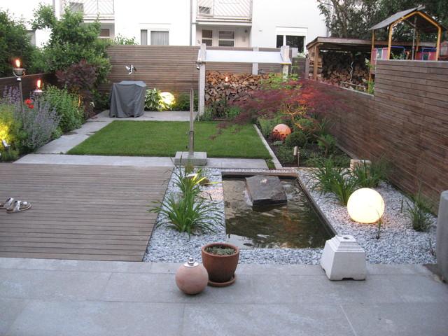 Reihenhausgarten Modern Sonstige Von Gartengestaltung Ralf
