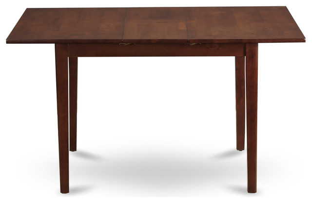 """Picasso Table, 32""""x60"""" With 12"""" Butterfly Leaf, Mahogany Finish"""