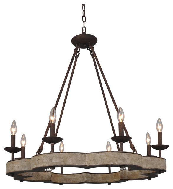 Juneau chandelier rustic chandeliers by terracotta designs juneau chandelier aloadofball Image collections