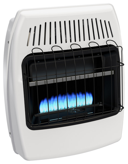 Dyna-Glo 20,000 Btu Natural Gas Blue Flame Vent Free Wall Heater.
